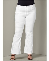 """""""Casual Boot CUT Jeans Jeans - White"""""""