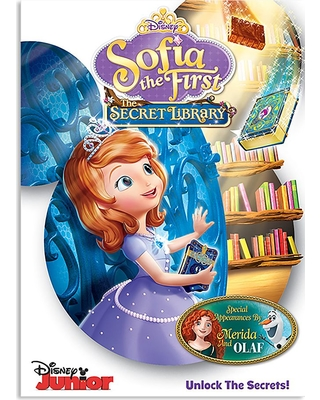 Sofia the First: The Secret Library DVD Official shopDisney