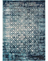 "Bungalow Rose Allentow Modern Distressed Royal Blue Area Rug BNRS1147 Rug Size: 7'10"" x 10'6"""