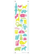 Oopsy Daisy ABC Animalia Growth Chart NB17 Color: Pink