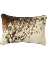 Bloomsbury Market Teddy Leather Lumbar Pillow BLMT7689 Back Material: Hide