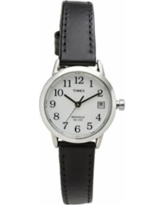 e20b55404 Surprise! 10% Off Timex Women's Easy Reader Leather Watch - T2H3319J ...