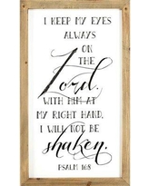 Winston Porter 'Wall Plaques' Framed Textual Art on Wood BF027254
