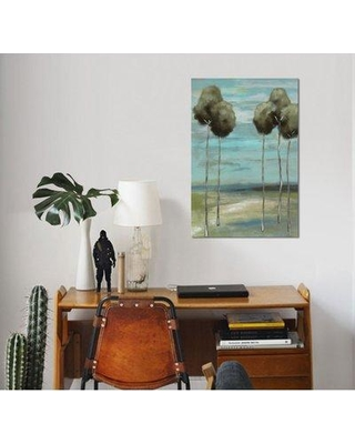 """East Urban Home 'Fantastic I' Watercolor Painting Print on Wrapped Canvas ESUH7400 Size: 40"""" H x 26"""" W x 0.75"""" D"""