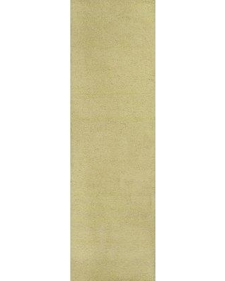 """Wrought Studio™ Tayla Canary Yellow Area Rug, Polyester in Yellow/Gold, Size 2'3"""" x 7'6"""" 