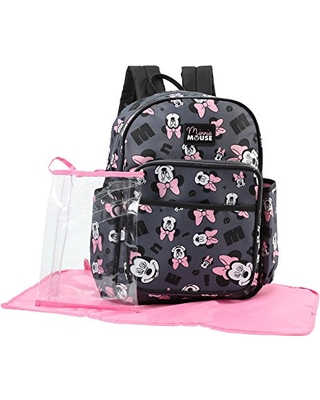 Here s a Great Price on Disney Minnie Mouse Toss Head Print Backpack ... cba4349c637a4