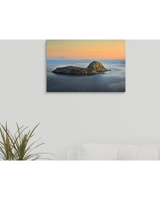 "Ebern Designs 'The Island' Photographic Print on Canvas W000028559 Size: 12"" H x 18"" W x 1.5"" D"