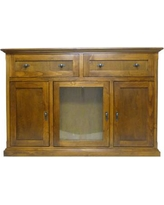 "Loon Peak Marquez 56"" TV Stand LNPE7427 Color: Spice Alder"