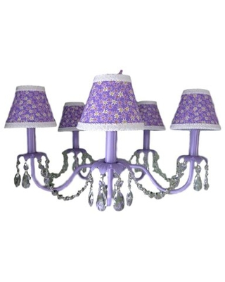 Camillah 5 - Light Shaded Classic / Traditional Chandelier