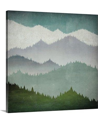 """Great Big Canvas 'First Snow' by Ryan Fowler Painting Print 2389206_1 Size: 20"""" H x 20"""" W x 1.5"""" D Format: Canvas"""