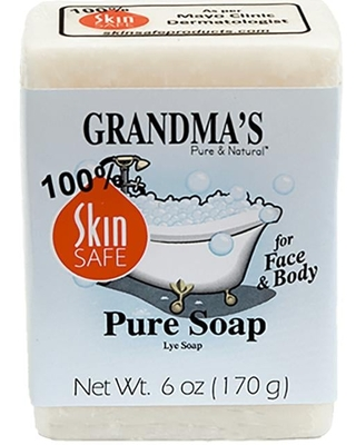 Remwood Products Co. Grandma's Pure Soap for Face & Body 6 oz Bars