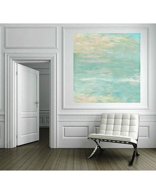 "Dubois Art LLC. 'Morning Glory' Acrylic Painting Print on Wrapped Canvas JAM- Size: 30"" H x 30"" W x 2"" D"