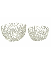 Great Deal On 3 Piece Conkle Ceramic Coral Decorative Bowl Highland Dunes