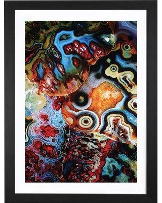 """East Urban Home 'Earth's Imagination' Graphic Art Print FTSC2009 Format: Black Frame Size: 24"""" H x 16"""" W x 1"""" D"""