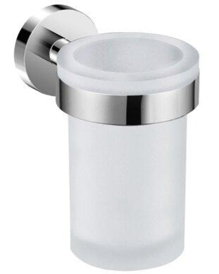 Here S A Great Deal On Orren Ellis Karns Toothbrush Holder Finish Glass In Brushed Size 3 H X 4 W X 4 D Wayfair 2658e338ce924ae0be27b88b17412f3f