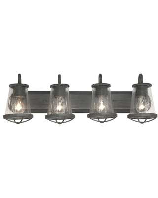 Sales For Home Decorators Collection Georgina 4 Light Weathered Iron Vanity Light