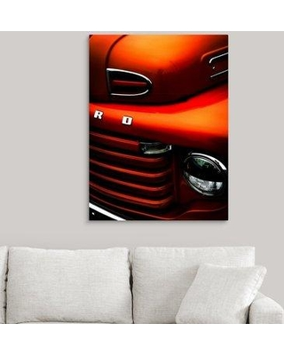 """Ebern Designs 'Ford' Photographic Print on Canvas X111897850 Size: 36"""" H x 27"""" W x 1.5"""" D"""