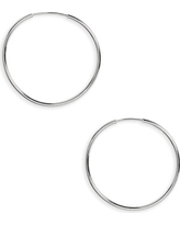Women's Argento Vivo Hoop Earrings