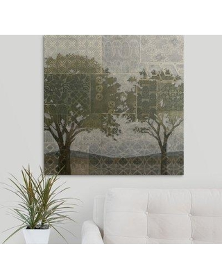 """Great Big Canvas 'Patterned Arbor II' Megan Meagher Graphic Art Print 2059223_1_ Size: 30"""" H x 30"""" W x 1.5"""" D Format: Canvas"""