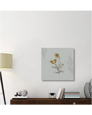 "East Urban Home 'Harvest Fields IV Gray' Graphic Art Print on Canvas ERBR1831 Size: 30"" H x 30"" W x 1.5"" D"