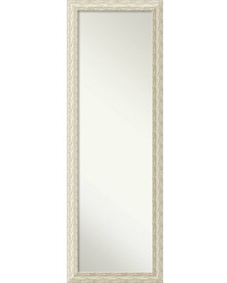 On The Door Full Length Wall Mirror, Cape Cod White Wash 18 x 52-inch - 51.38 x 17.38 x 0.908 inches deep (Door Full Length Wall Mirror,Cape Cod