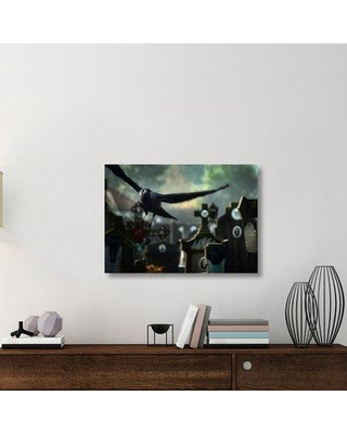"East Urban Home 'Crossflow' Photographic Print On Wrapped Canvas ERNH3048 Size: 25.56"" H x 36"" W x 1.5"" D"