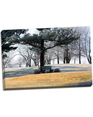 Winston Porter 'Bench II' Photographic Print on Wrapped Canvas BF051627