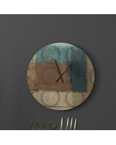 Amazing Deal On Learned Infinite Abstract Wall Clock Latitude Run Size Small