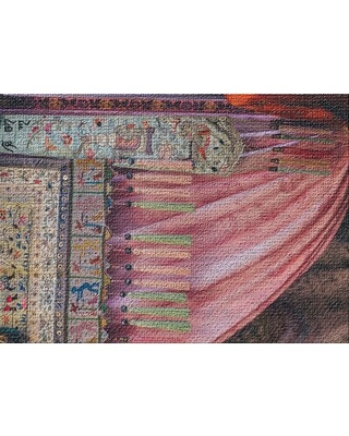 Sharp Colors 39 Pink Area Rug East Urban Home Rug Size: Rectangle 5' x 7'