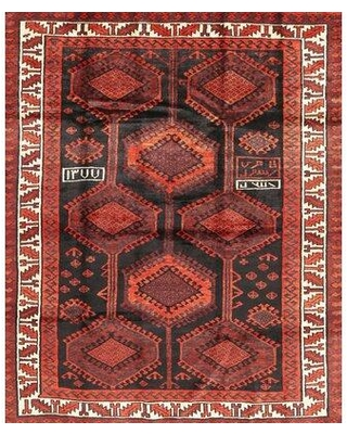Amazing Deal On Bloomsbury Market Schagen Traditional Red Brown Area Rug Wool Polyester In Brown Tan Size Rectangle 3 X 5 Wayfair