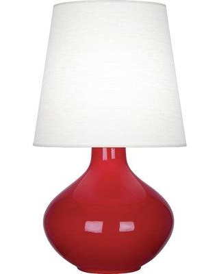 Hot Sale Robert Abbey June 30 75 Table Lamp Base Color Ruby Red