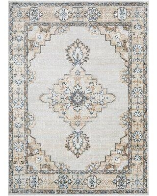Get This Deal On World Menagerie Branxton Oriental Ivory Brown Area Rug Polypropylene In Brown Tan Size Rectangle 6 6 X 9 2 Wayfair