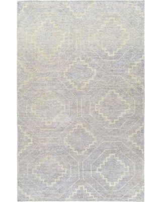 Mercury Row Aracely Hand-Knotted Lavender Area Rug W001019579 Rug Size: Rectangle 4' x 6'