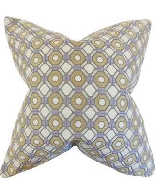 "The Pillow Collection Wylie Throw Pillow P18-TPC-1013 / P20-TPC-1013 Size: 20"" H x 20"" W"
