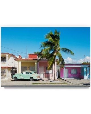 """Trademark Fine Art 'Sunday Afternoon' Photographic Print on Wrapped Canvas PH00702-C Size: 22"""" H x 32"""" W"""