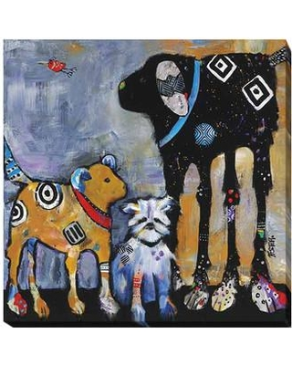 """Artistic Home Gallery 'Proud Mom' by Jenny Foster Painting Print on Wrapped Canvas 525EG Size: 24"""" H x 24"""" W x 1.5"""" D"""