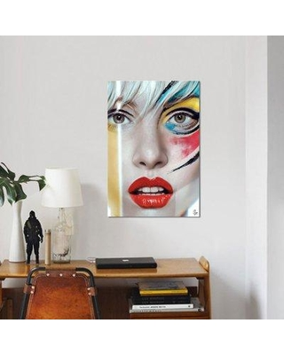 """East Urban Home 'Snapshot' Graphic Art Print on Canvas ESUH5264 Size: 26"""" H x 18"""" W x 1.5"""" D"""