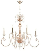 Cyan Design Spectre 6 - Light Candle Style Classic / Traditional Chandelier 10364 / 10367 Finish: Pink