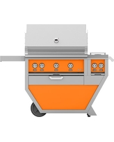Hestan 54'' Grill with Double Burners, 2 Trellis Burners, 1 Sear Burner & 1 Rotisserie, Citra