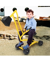 Sand Digger Toy Kids Heavy Duty Ride-on Digging Scooper Excavator