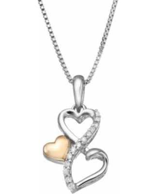 118cd6523613e Don't Miss This Deal: Love Is Forever Diamond Accent Sterling Silver ...