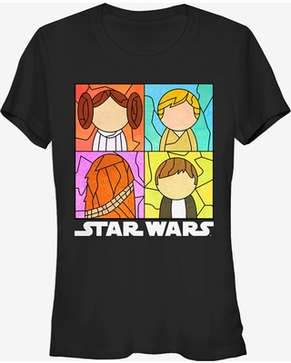 Star Wars Stained Glass Rebels Girls T-Shirt