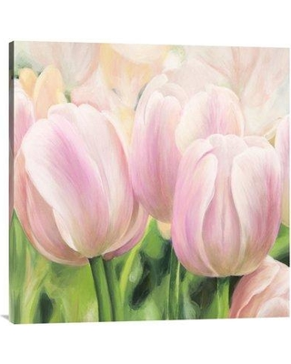 """Global Gallery 'Primavera II' by Villa Painting Print on Wrapped Canvas GCS-465786- Size: 30"""" x 30"""" x 1.5"""" D"""