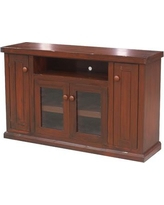 """Eagle Furniture Manufacturing Calistoga Solid Wood TV Stand for TVs up to 65"""" 351857PL Color: European Gold"""