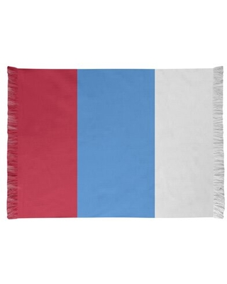 Tennessee Red Football Red/Blue Area Rug East Urban Home Backing: Yes