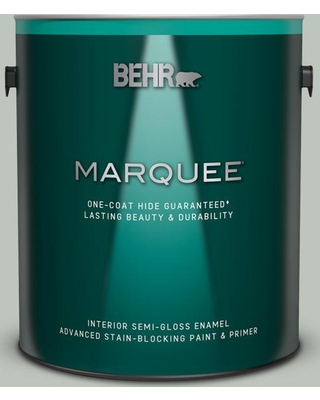 BEHR MARQUEE 1 gal. #700E-3 Contemplation Semi-Gloss Enamel Interior Paint and Primer in One