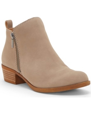 Women's Lucky Brand Basel Bootie, Size 9.5 M - Brown