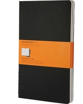 "Notebook Moleskine 8.37"" x 5.37"" Black"