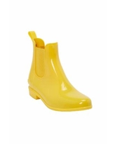 Women's The Uma Rain Boot by Comfortview In Primrose Yellow (Size 7 W)