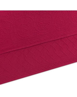 Williamsburg Richmond Full Bed Skirt in Red